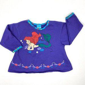 Vintage The Little Mermaid Sweatshirt XS (4-5)